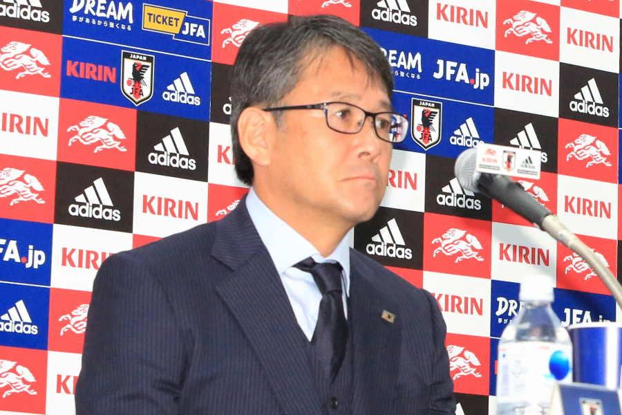 日本サッカー協会の関塚技術委員長【写真:Noriko NAGANO】