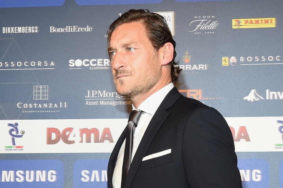 元イタリア代表FWフランチェスコ・トッティ氏【写真:Getty Images】