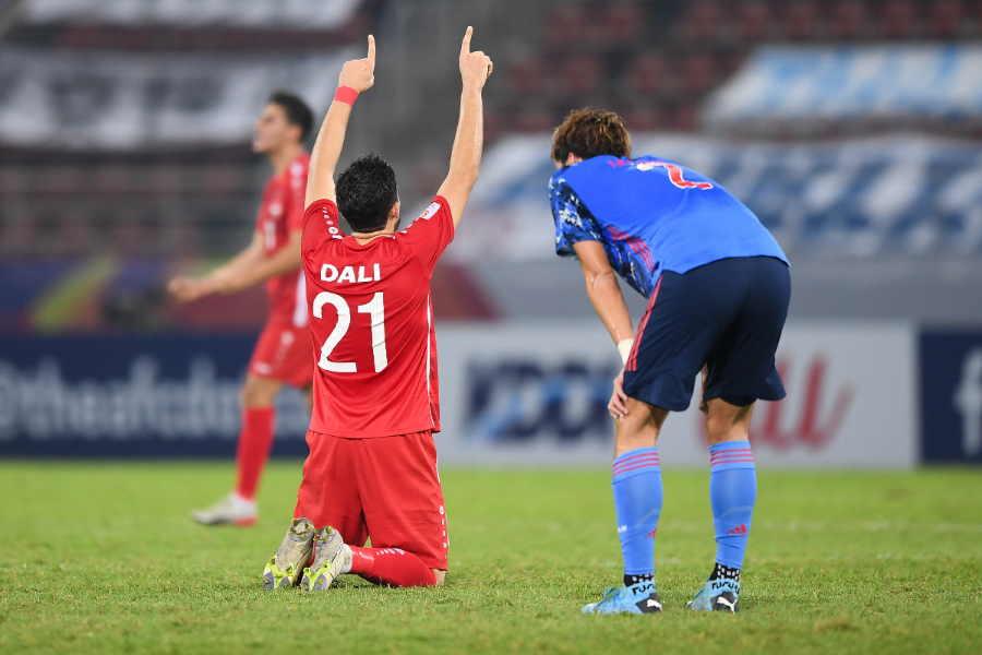 シリアに敗れた日本は、グループ2連敗でまさかの敗退【写真:Getty Images】