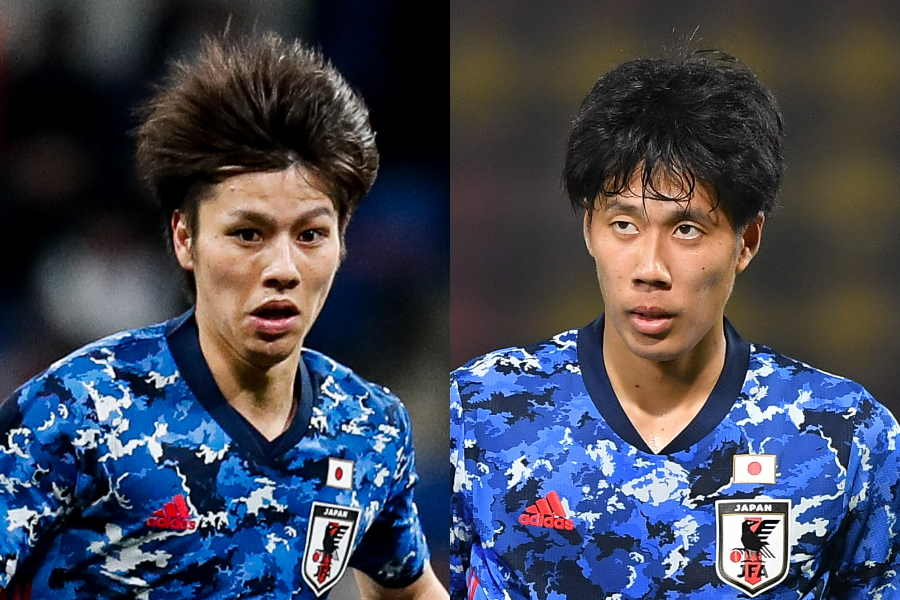 U-23代表MF田中碧(左)とMF田中駿汰【写真:Getty Images】