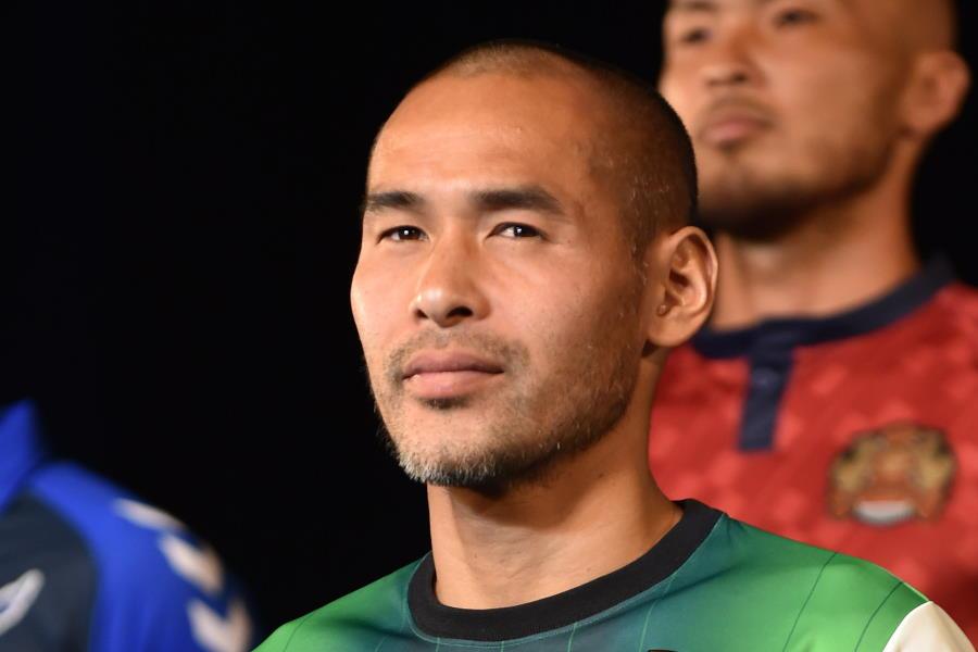 沖縄SVでオーナー兼選手で活躍する元日本代表FW高原直泰(※写真は2015年のものです)【写真:Getty Images】