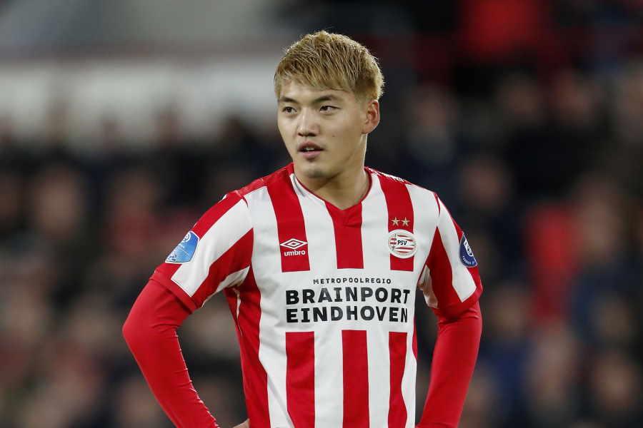 PSVの日本代表MF堂安律【写真:Getty Images】
