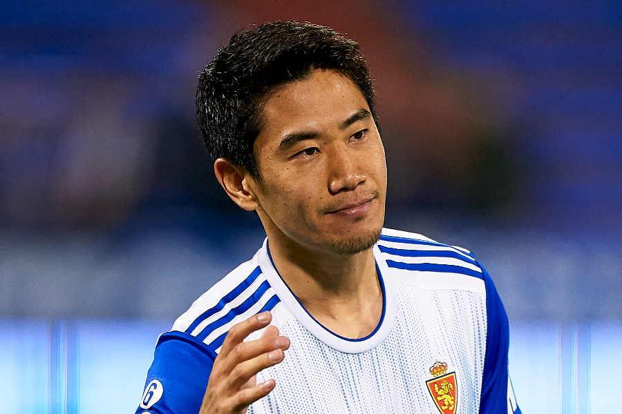スペイン2部レアル・サラゴサでプレーするMF香川真司【写真:Getty Images】