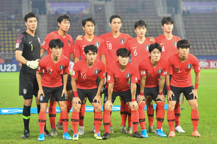 U-23アジア選手権で初優勝した韓国代表【写真:Getty Images】