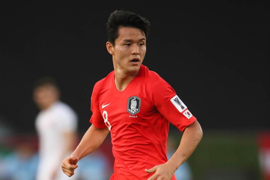 ガンバ大阪に加入する韓国代表MFチュ・セジョン【写真:Getty Images】