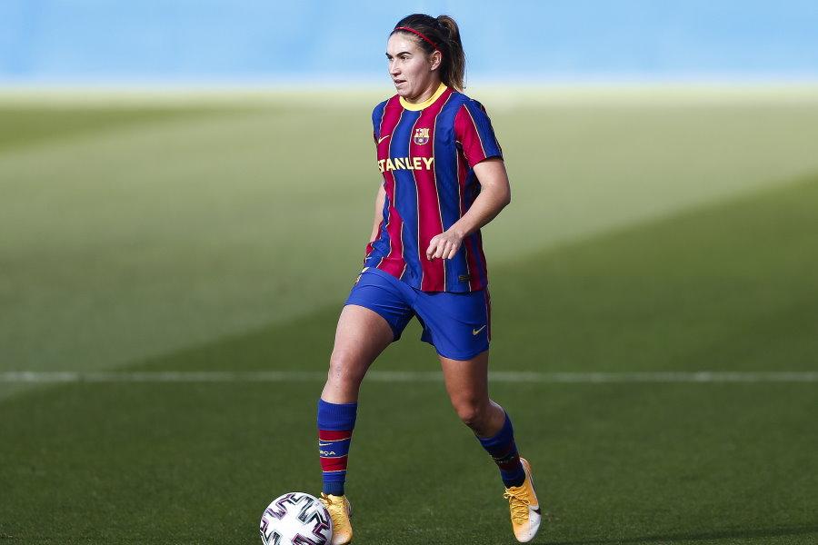 バルセロナ女子FWカルデンテイ【写真:Getty Images】