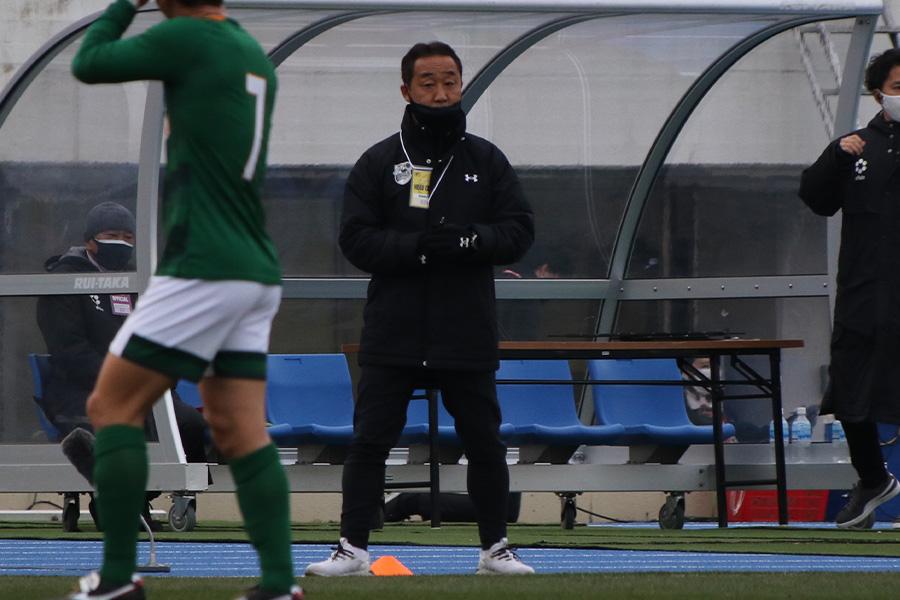 青森山田の黒田剛監督【写真:Football ZONE web】