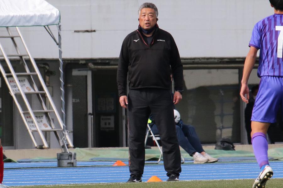 矢板中央の高橋健二監督が準決勝を振り返った【写真:Football ZONE web】