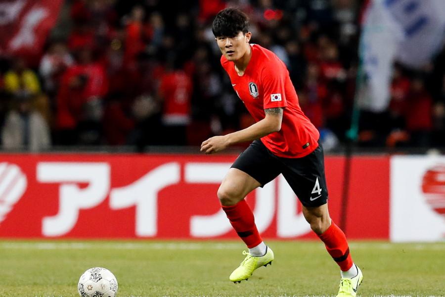 韓国代表DFキム・ミンジェ【写真:Getty Images】