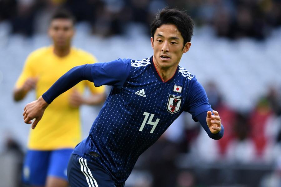 シャルルロワの日本代表MF森岡亮太【写真:Getty Images】