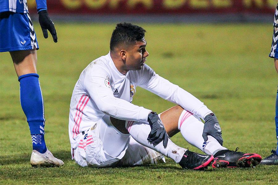レアル・マドリードは3部アルコヤーノに敗れスペイン国王杯で敗退【写真:Getty Images】