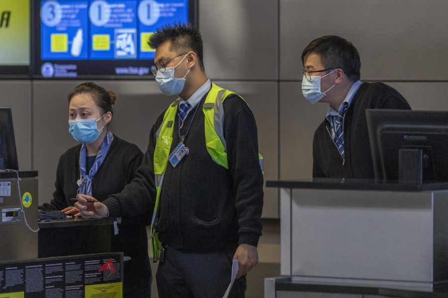 新型コロナウイルスがアジアで拡大でマスクを着用(※写真はイメージです)【写真:Getty Images】