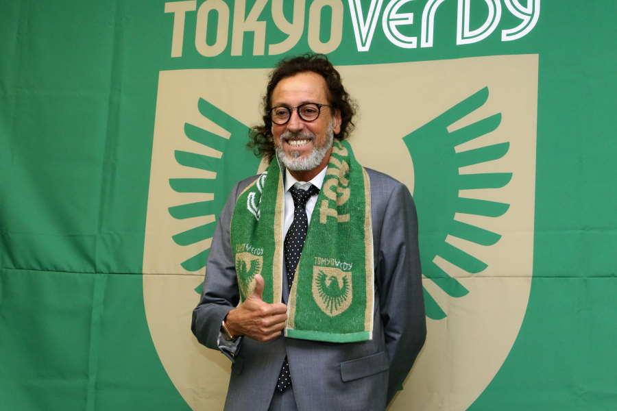 東京Vチームダイレクターに就任したラモス瑠偉氏【写真:Football ZONE web】
