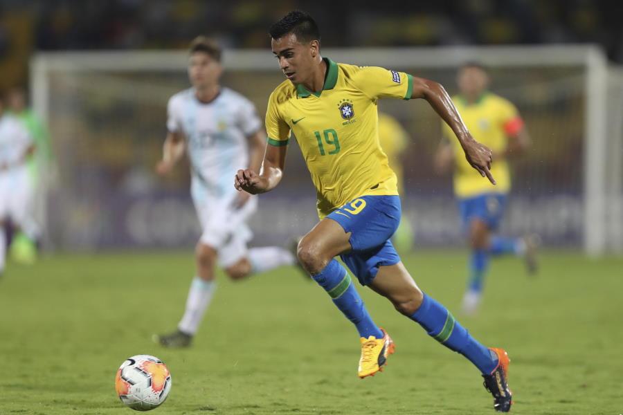 U-23ブラジル代表MFレイニエル・ジェズス【写真:AP】