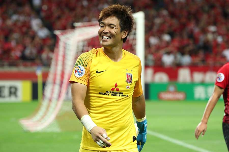 今季から浦和レッズのキャプテンを務めるGK西川周作【写真:高橋学】