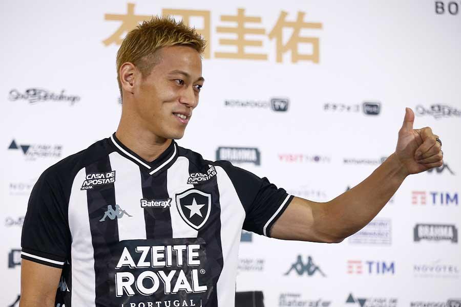ボタフォゴでプレーするMF本田圭佑がトレーニングの様子を公開【写真:Getty Images】