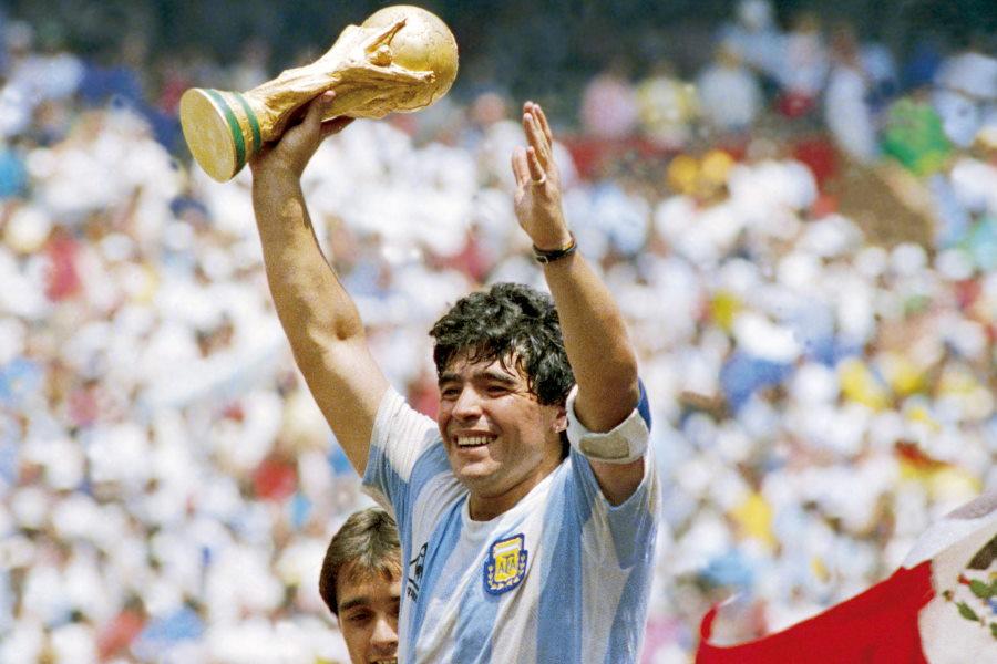 サッカー史に残る天才、元アルゼンチン代表MFディエゴ・マラドーナ【写真:Getty Images】
