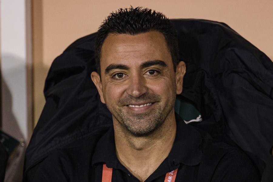 現在アル・サッドを指揮するシャビ監督【写真:Getty Images】