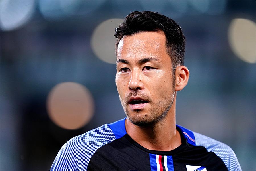 サンプドリアで活躍する日本代表DF吉田麻也【写真:Getty Images】