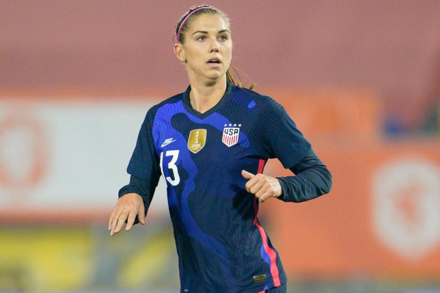 アメリカ女子代表FWアレックス・モーガン【写真:Getty Images】