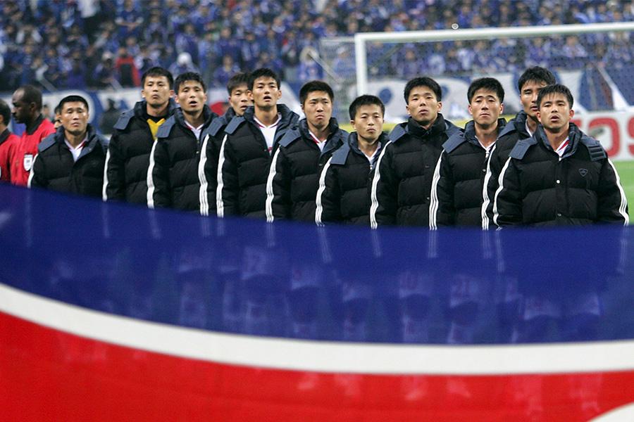 李漢宰は北朝鮮代表としてアジア最終予選でワールドカップの出場権を争った【写真:Getty Images】