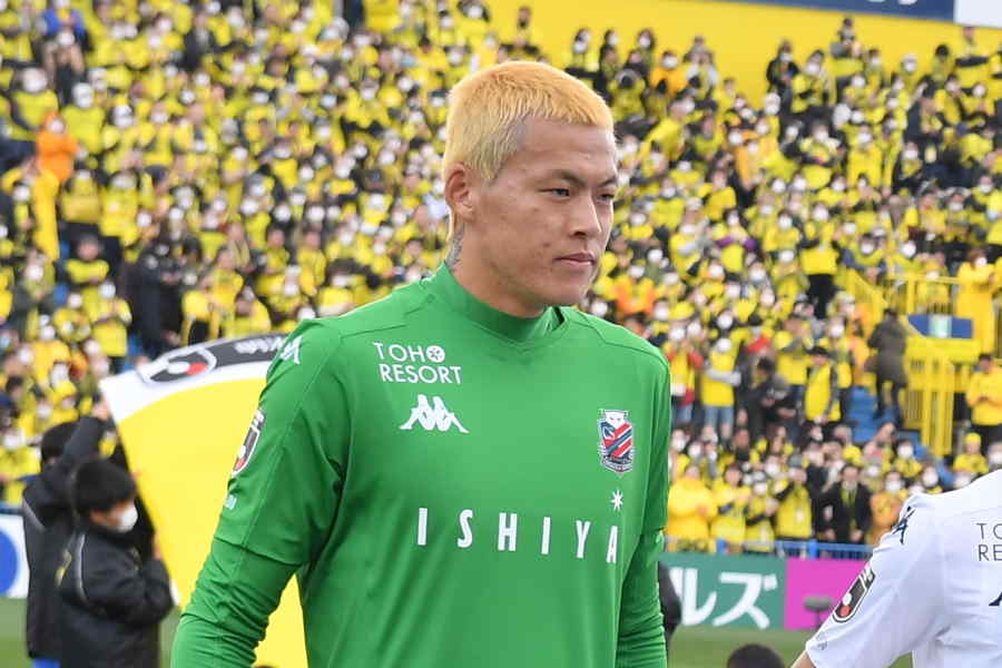 Kリーグ大邱FCに移籍した韓国代表GKク・ソンユン(※写真は札幌時代のもの)【写真:小林 靖】
