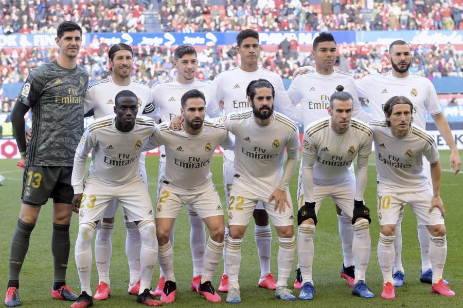 レアルがサッカーのトップチームも隔離措置が決定【写真:Getty Images】