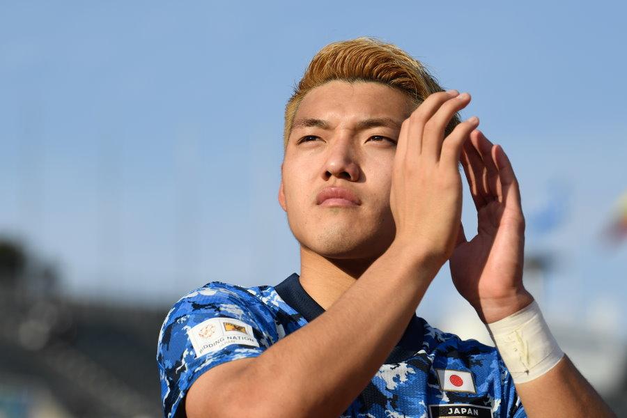 U-23日本代表の堂安律【写真:浦正弘】