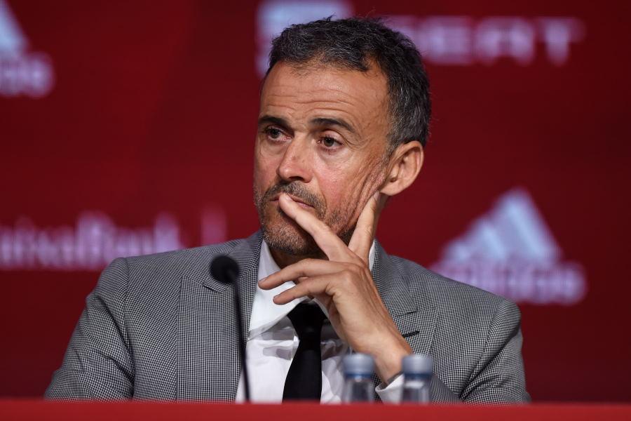 スペイン代表のエンリケ監督【写真:Getty Images】