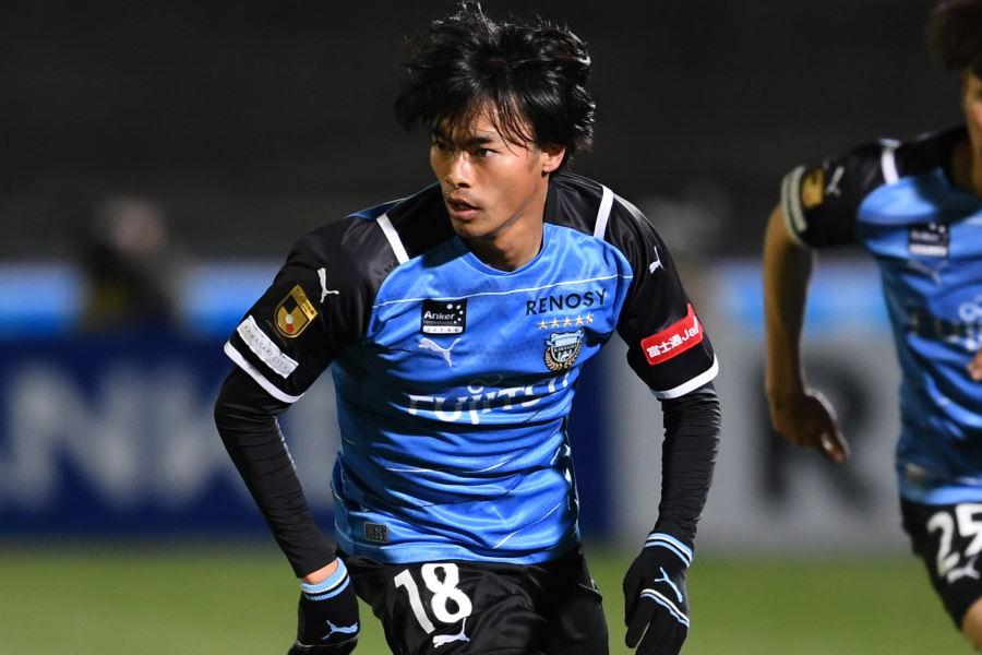 1ゴールで勝利に貢献した川崎MF三笘薫【写真:Getty Images】