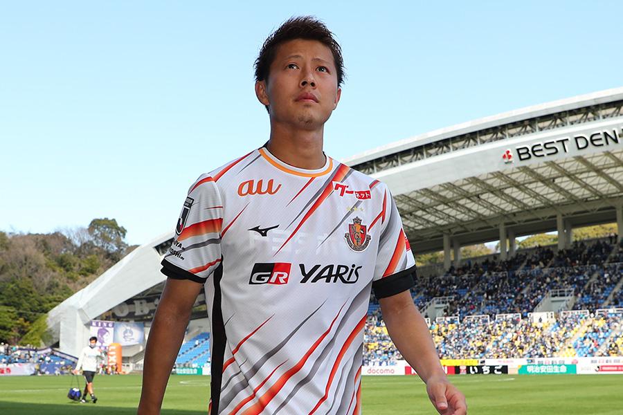 今季から名古屋グランパスでプレーするFW柿谷曜一朗【写真:Getty Images】