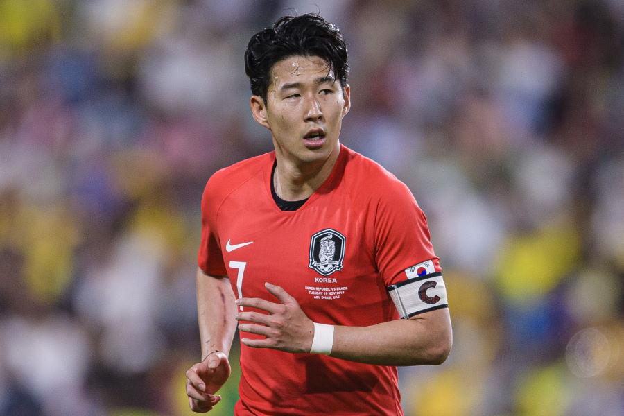 プレミアで活躍する韓国代表FWソン・フンミン【写真:Getty Images】