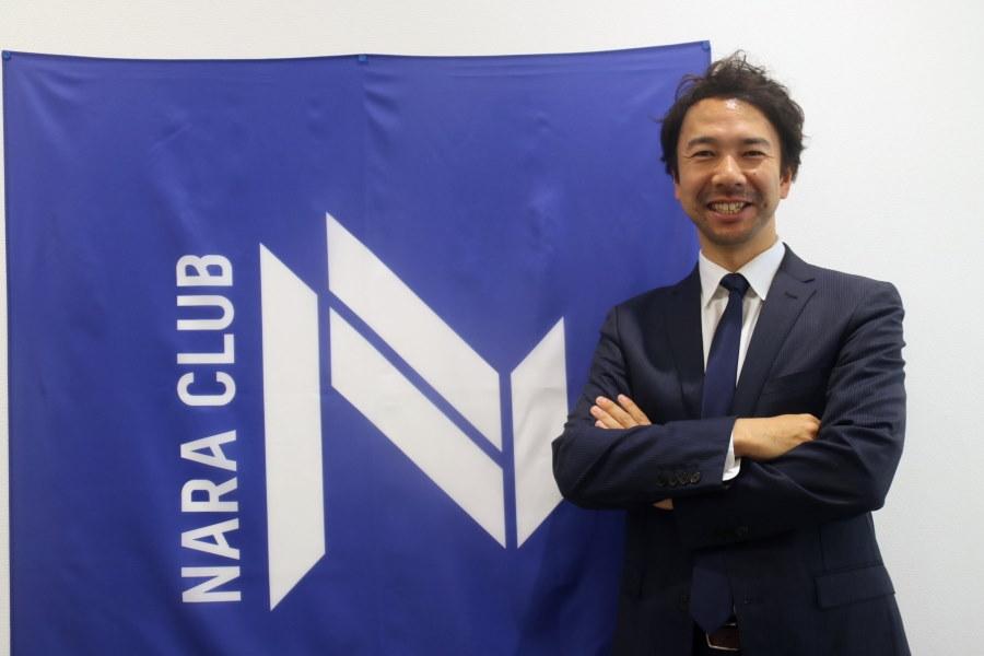 JFL奈良クラブの浜田満社長【写真:©NARA CLUB】