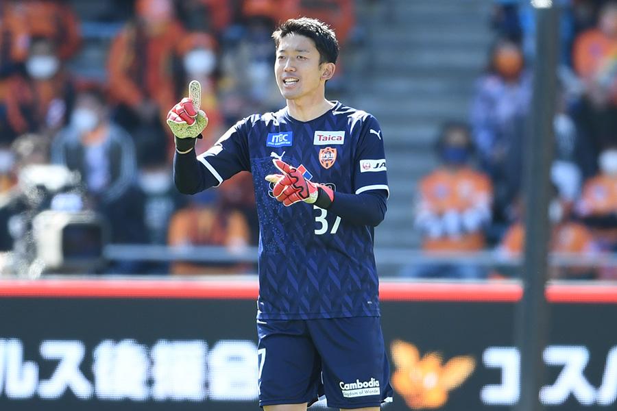 今季から清水エスパルスでプレーするGK権田修一【写真:Getty Images】