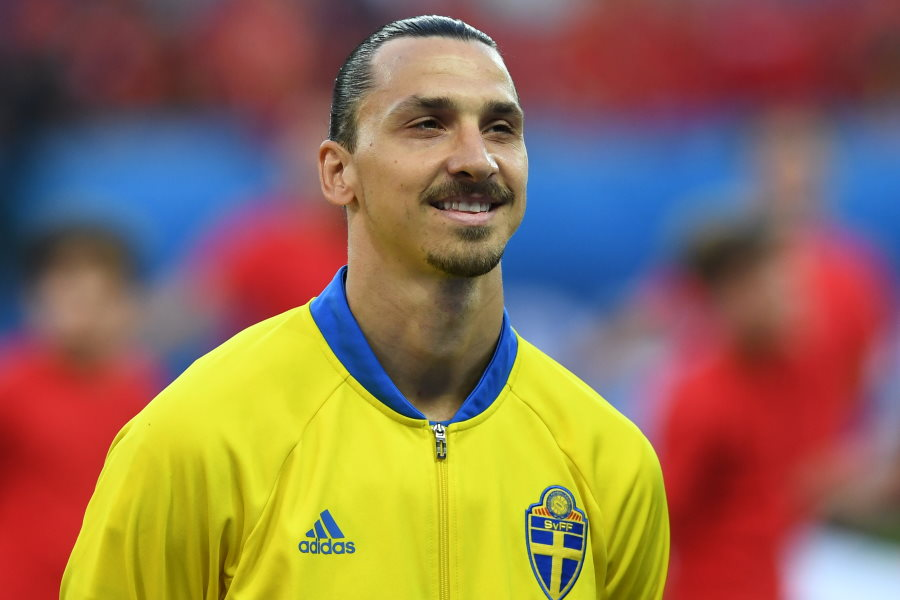 スウェーデン代表復帰のFWイブラヒモビッチ(※写真は前代表時のもの)【写真:Getty Images】