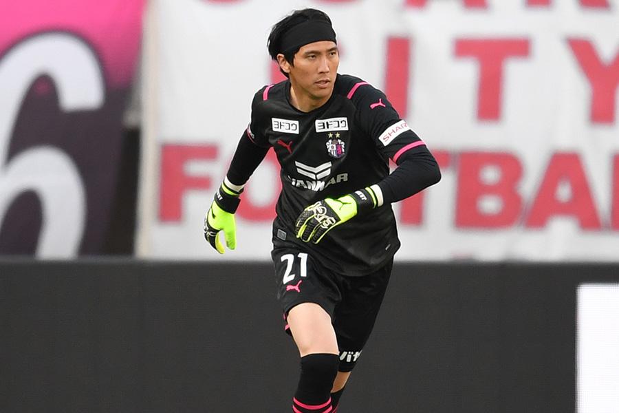 セレッソ大阪で13年目のシーズンを迎えたGKキム・ジンヒョン【写真:Getty Images】