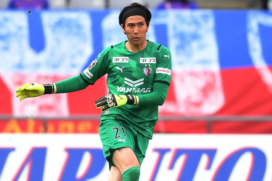 セレッソ大阪でプレーする韓国代表GKキム・ジンヒョン【写真:Getty Images】