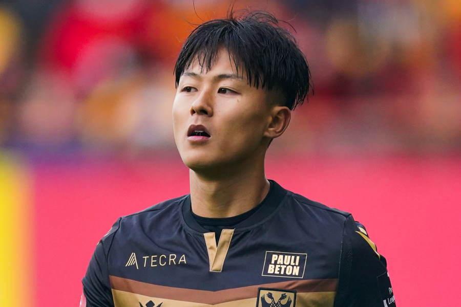 ポルティモネンセに加入した韓国代表MFイ・スンウ(※写真はSTVV時代)【写真:Getty Images】