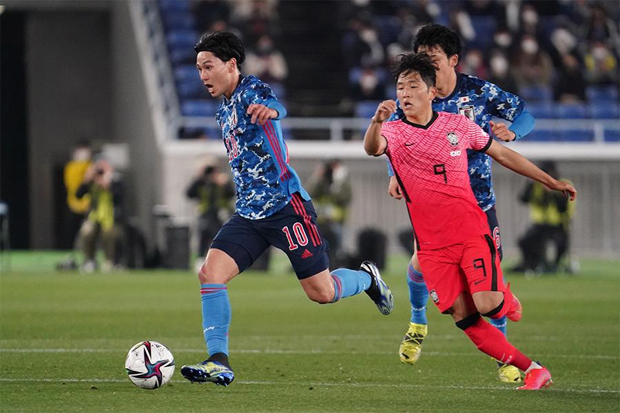 日本代表と韓国代表の一戦は大差がつく結果に【写真:Getty Images】