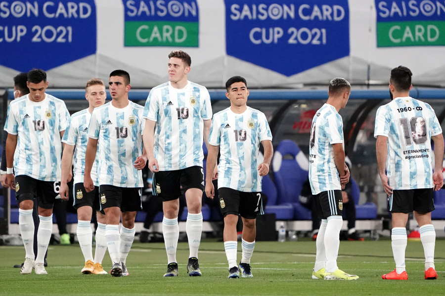 アルゼンチンは2戦目で日本に3点を許し完敗【写真:Getty Images】