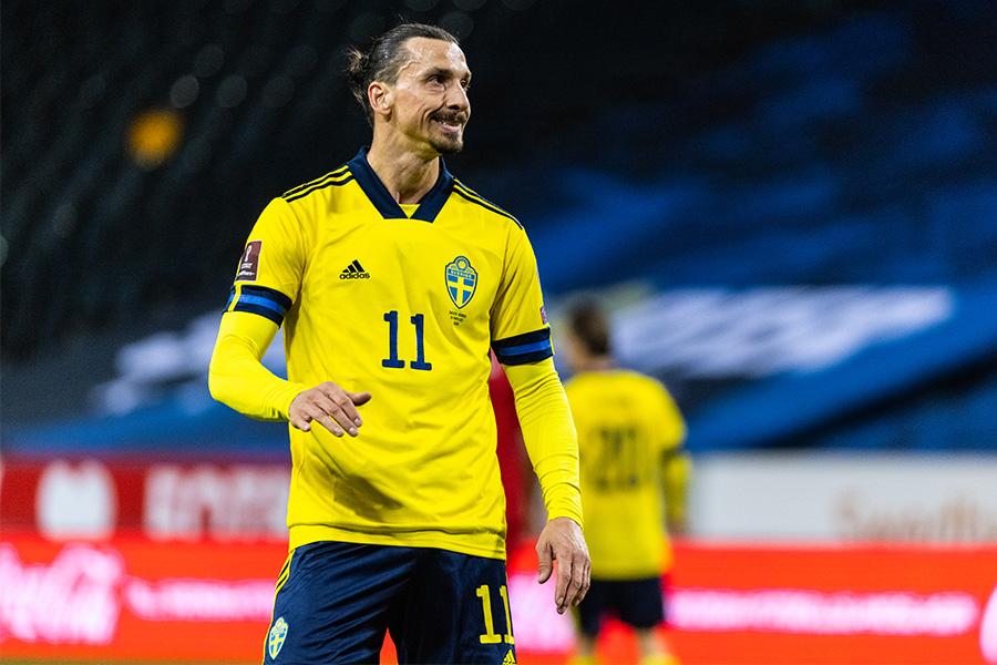 スウェーデン代表に復帰をしたFWズラタン・イブラヒモビッチ【写真:Getty Images】