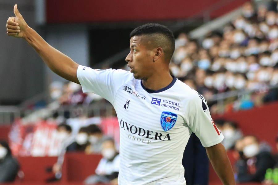 J1横浜FCのDFマギーニョが母国メディアで53歳のFW三浦知良を絶賛【写真:Noriko NAGANO】