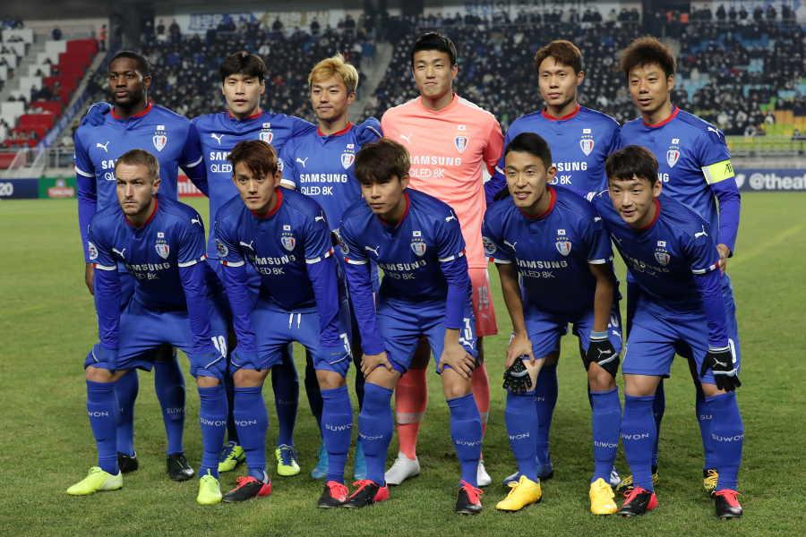 韓国Kリーグが厳しい状況になっている(※写真はKリーグ所属の水原三星)【写真:Getty Images】