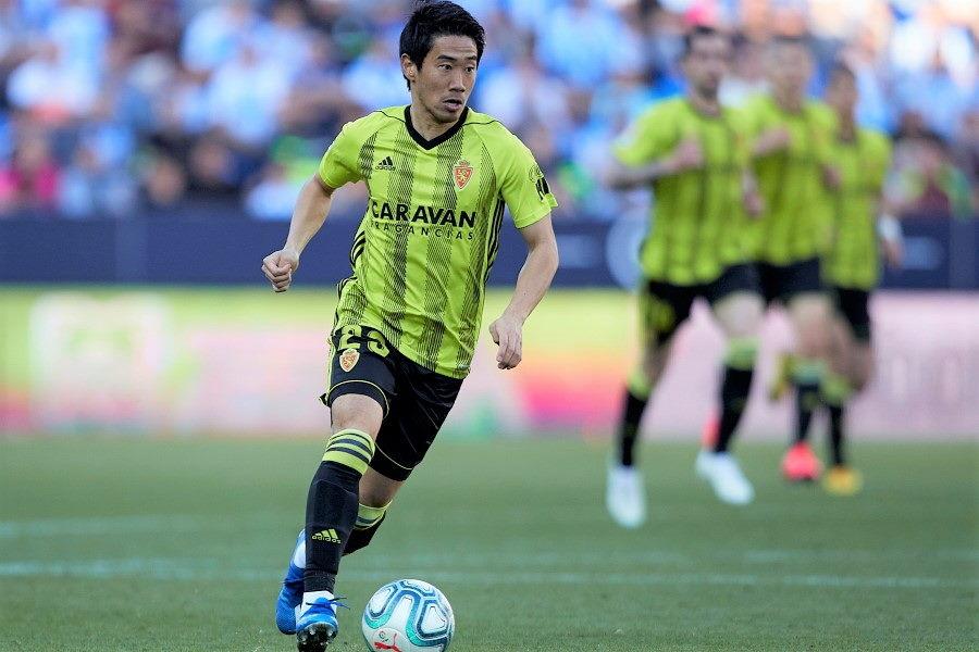 レアル・サラゴサMF香川真司は来季どこでプレーすることになるだろうか【写真:Getty Images】