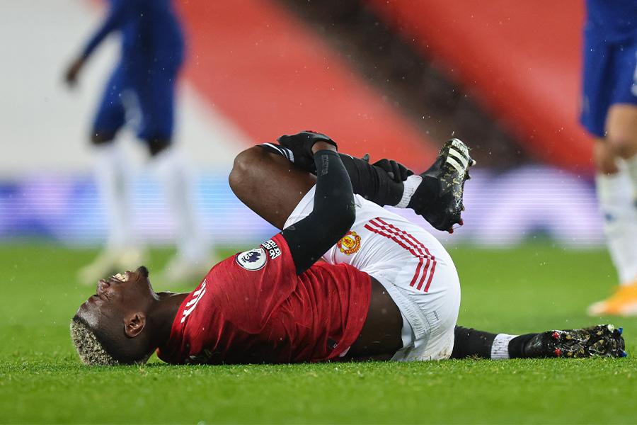 マンチェスター・ユナイテッドはMFポグバらの負傷期間に悩まされている【写真:Getty Images】
