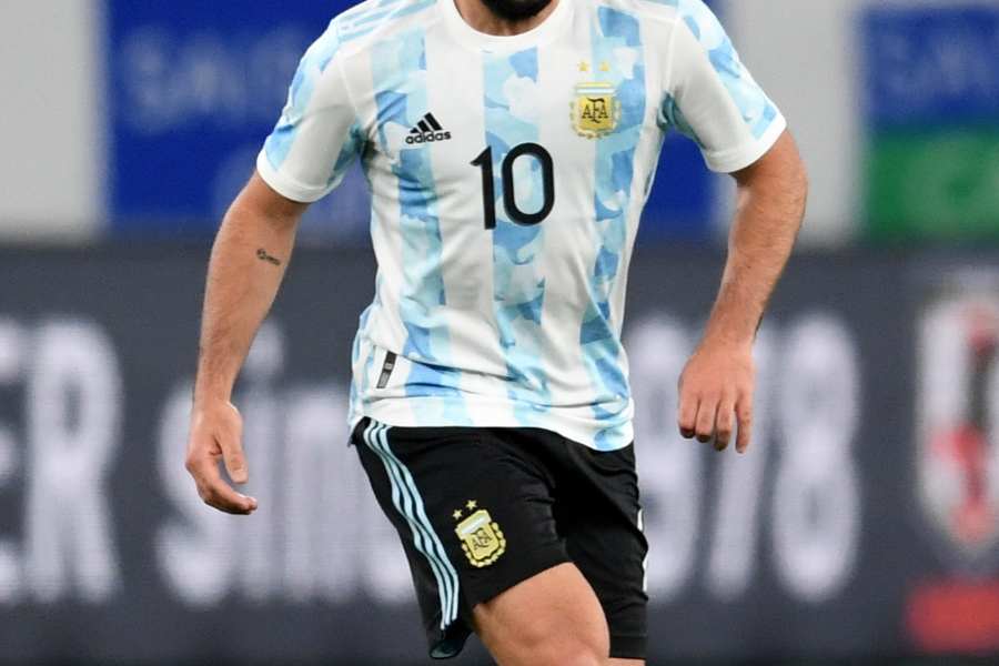 アルゼンチン代表ユニフォーム(※写真は現在の1stユニ)【写真:Getty Images】