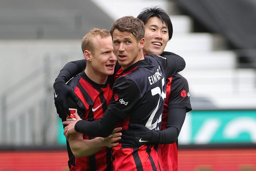 MF鎌田の活躍もあり勝利を重ねるフランクフルト【写真:Getty Images】