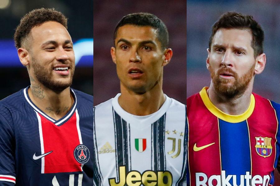 サッカー界で莫大な資産を持つ3人【写真:AP】