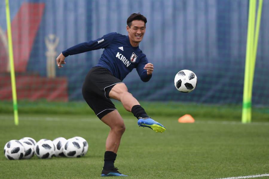 日本代表DF槙野智章が練習でのリフティングボレー動画を公開【写真:Getty Images】