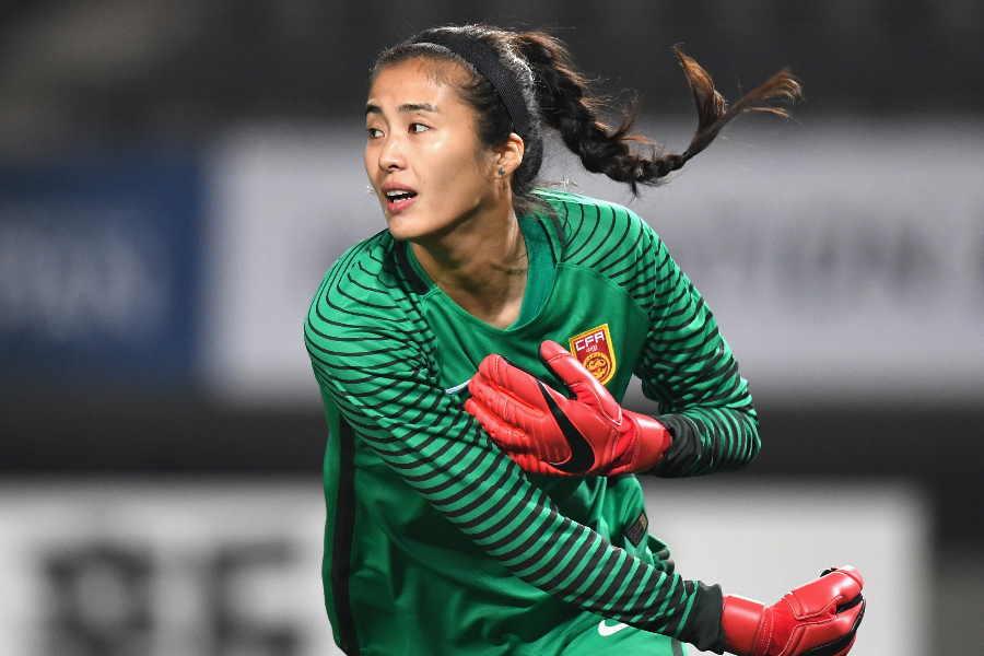 元中国女子サッカー代表GKジャオ・リーナー【写真:Getty Images】
